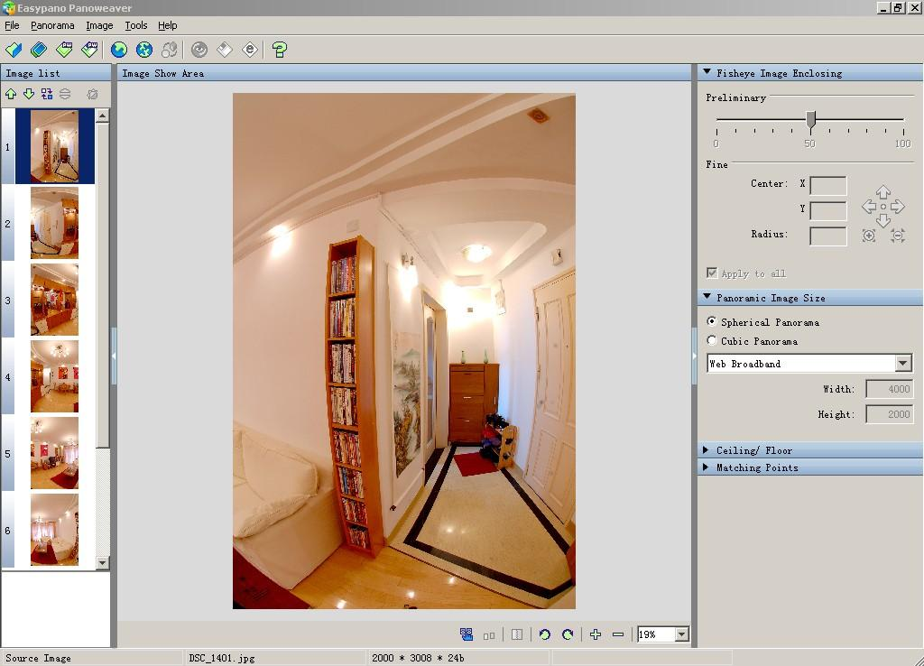Panoweaver Professional for Windows software screenshot