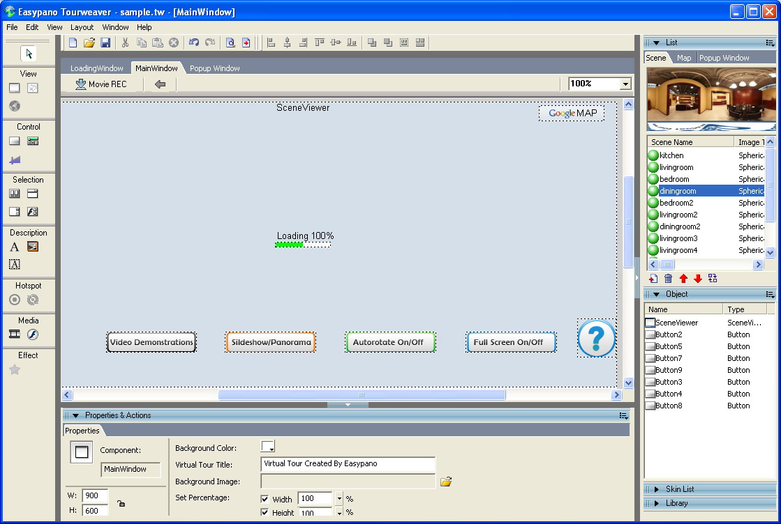 Tourweaver 6.00 Professional for Windows