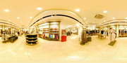 shopping center panorama by Panoweaver