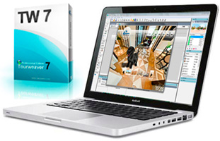 Virtual tour software for Mac-Tourweaver 7.10 Mac