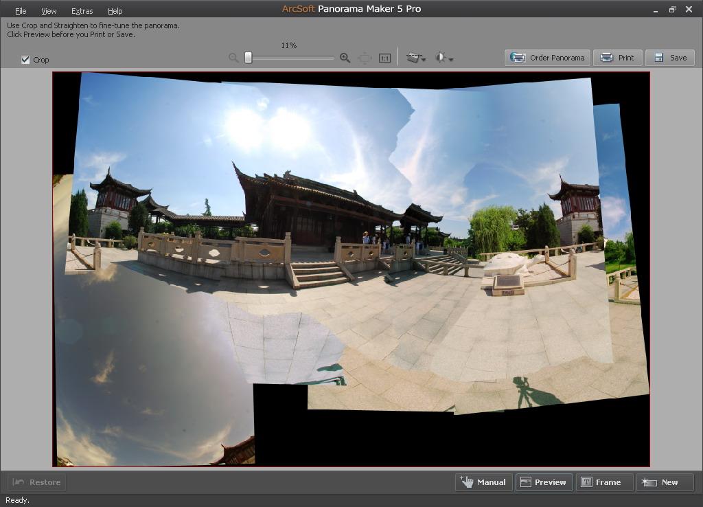 Comparison Between Arcsoft Panorama Maker And Panoweaver