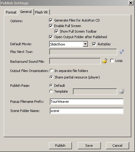 How to share the same virtual tour player (twviewer swf) for