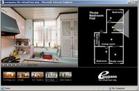 Click to see the Real Estate virtual tour demo 3 Bedroom Flat.